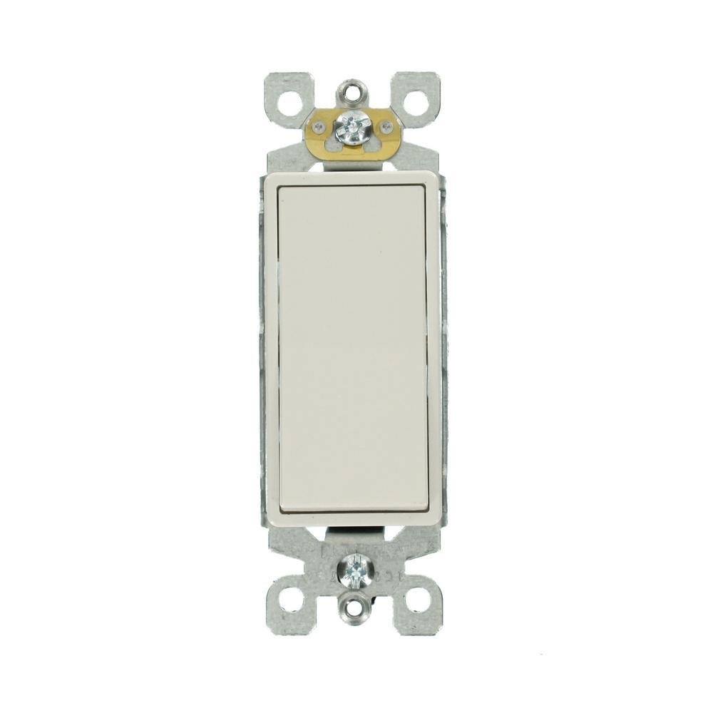 Decora 15 Amp 3-Way Switch, White (5-Pack)