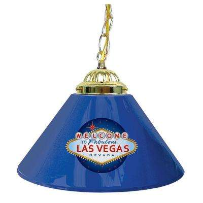 Las Vegas 14 in. Single Shade Hanging Lamp