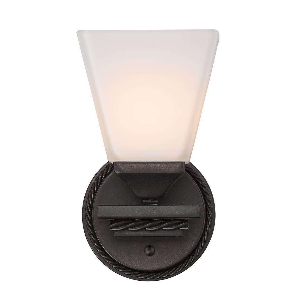 Davenport Etruscan Bronze 1-Light Bath Light
