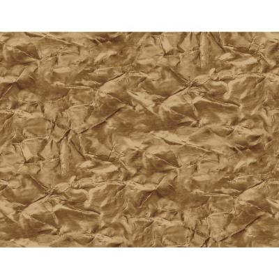 Sax Metallic Gold and Chestnut Crackle Wallpaper