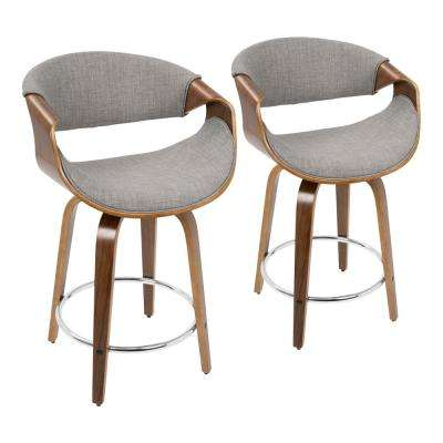 Swell Wood Lumisource Full Back Bar Stools Kitchen Dailytribune Chair Design For Home Dailytribuneorg