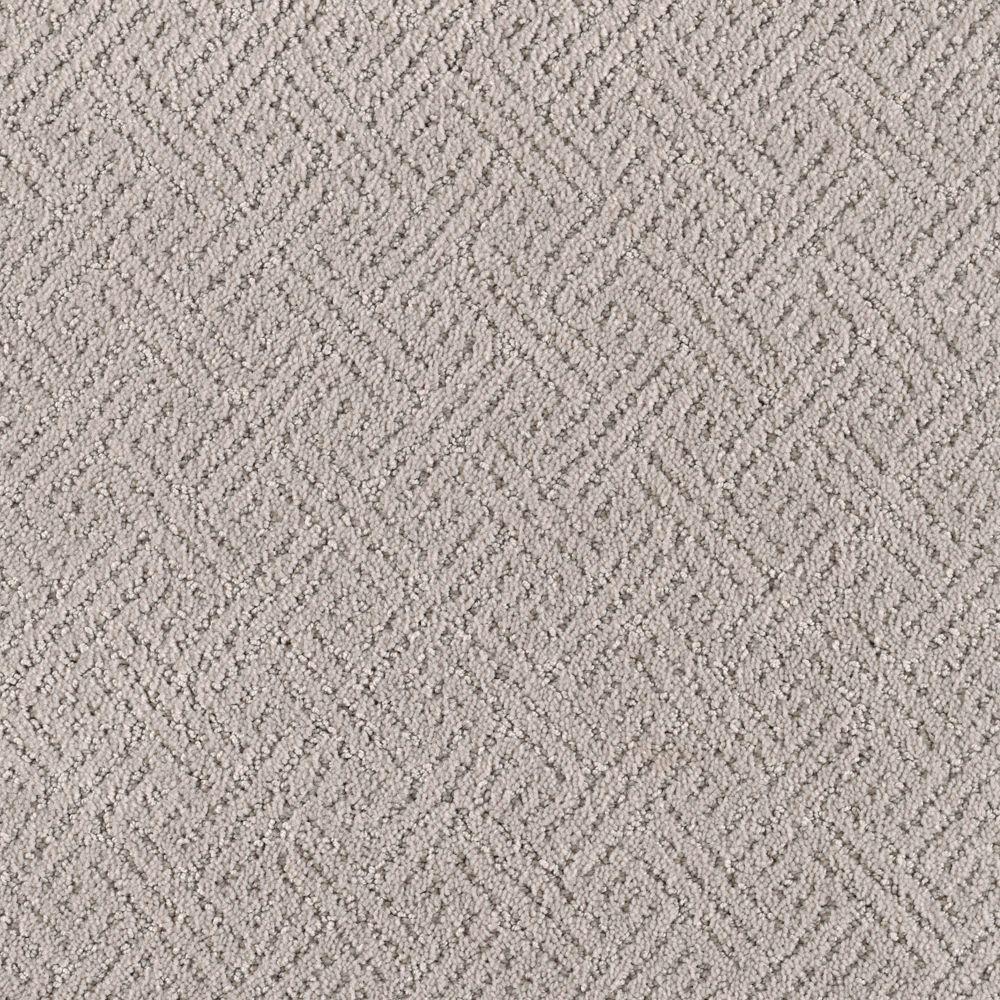 Home Decorators Collection Sonoma - Color Feather Gray 12 ft. Carpet