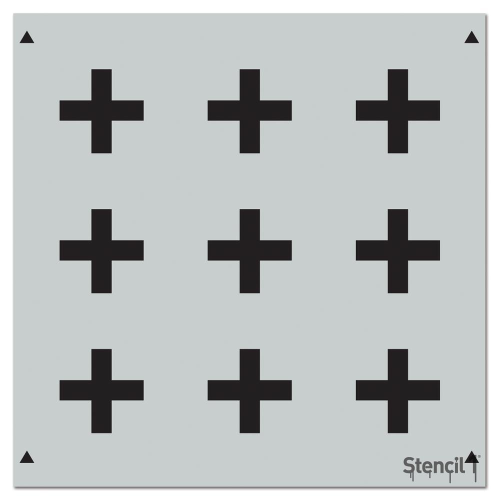 Stencil1 Plus Repeat Pattern Stencil S1 Pa 64 The Home Depot