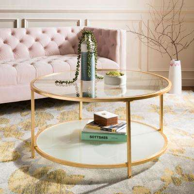 96906eb050ed4 Gold - Accent Tables - Living Room Furniture - The Home Depot