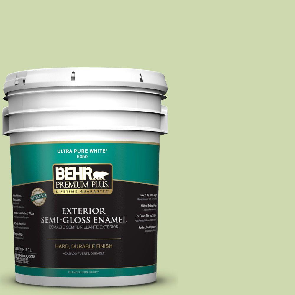 5-gal. #P370-3 Chameleon Skin Semi-Gloss Enamel Exterior Paint