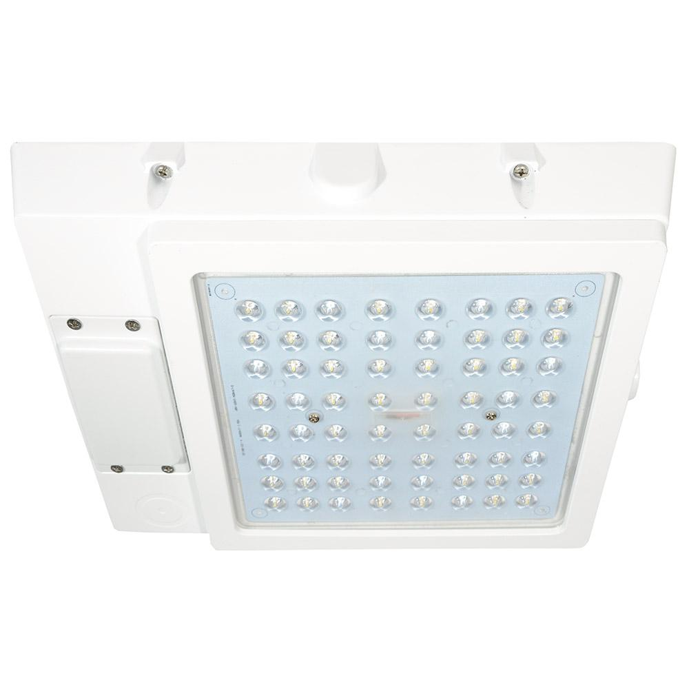 led outdoor garage lights stainless steel security radiance 48watt white integrated led outdoor garage area light