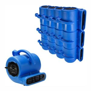 B-Air 1/4 HP Low Profile Air Mover for Water Damage
