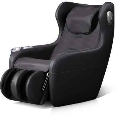 Black Leatherette 3-Mode Massage Chair