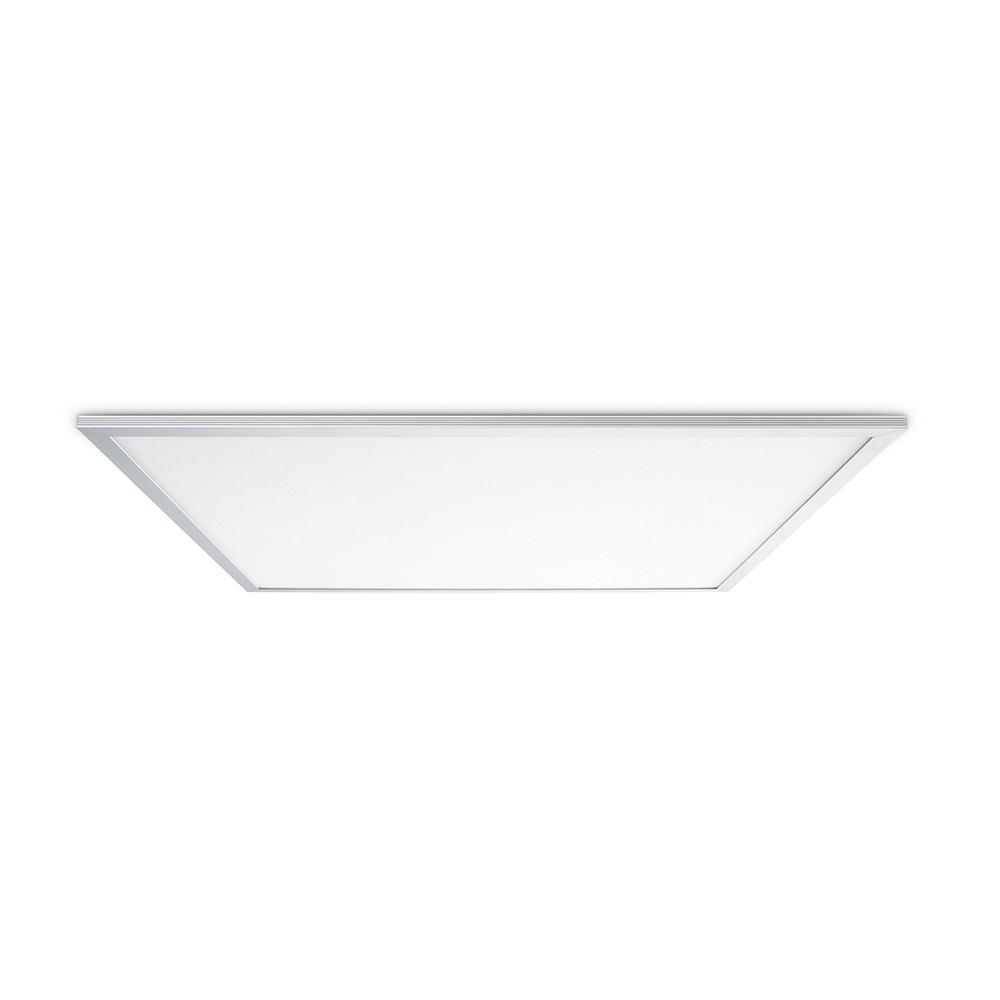 Skytile 50-Watt Brushed Aluminum 2 x 2 Integrated LED Flat Panel