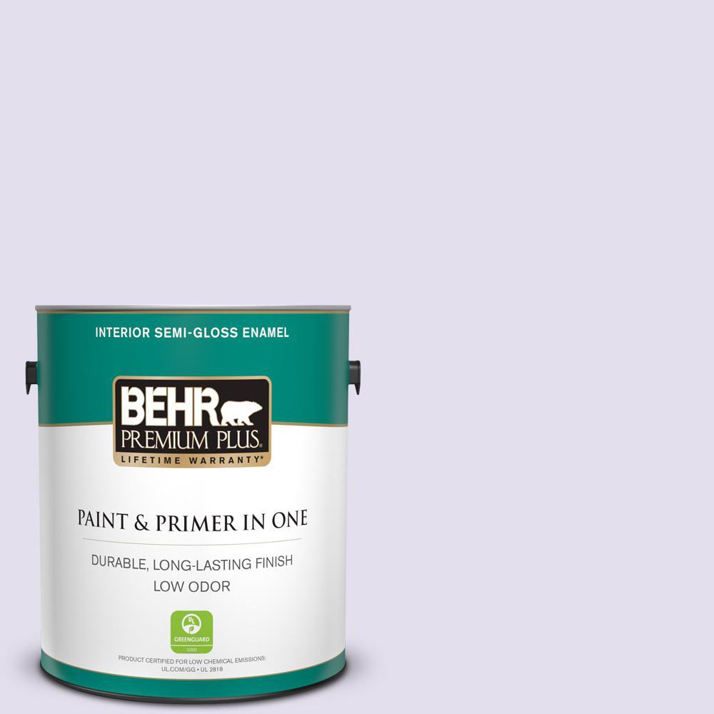 BEHR Premium Plus 1 Gal. #650C-2 Powdery Mist Semi-Gloss