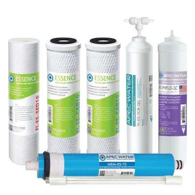 Essence Under Sink System ROES-PHUV75 Complete Replacement Filter Set for pH Enhanced UV Sanitizing 7-Stages