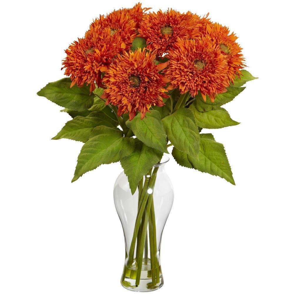 Sunflower Arrangement with Vase