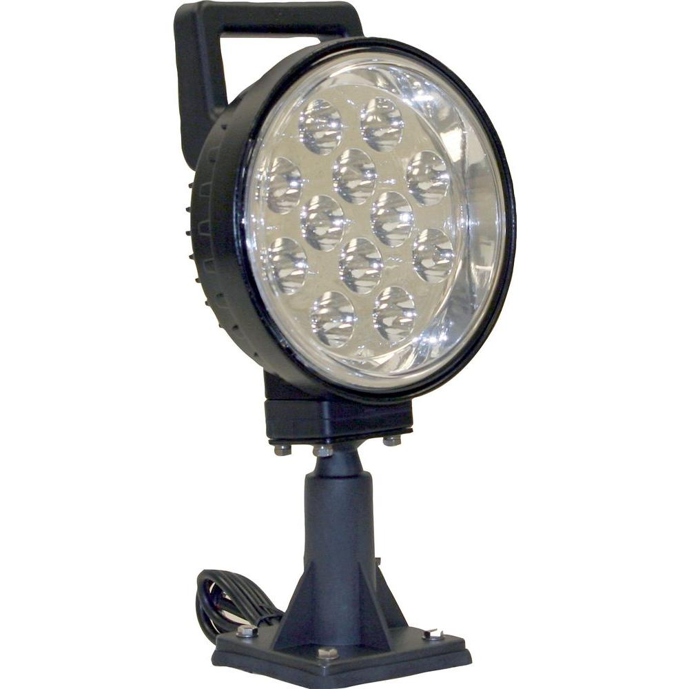 Buyers Products Company 12-Clear LED 6 in. Round Spot Light