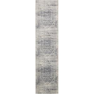 Chateau Quincy Gray 3' 0 x 13' 0 Runner Rug