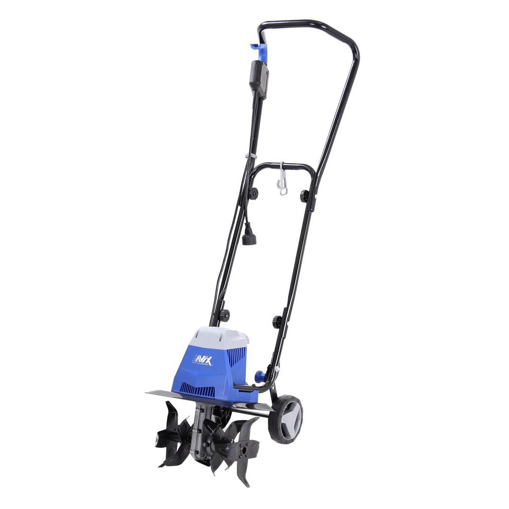 pleasurable home depot garden tillers. 10 Amp Electric Tiller Cultivator Champion Power Equipment 43cc Gas Landscaping 100378