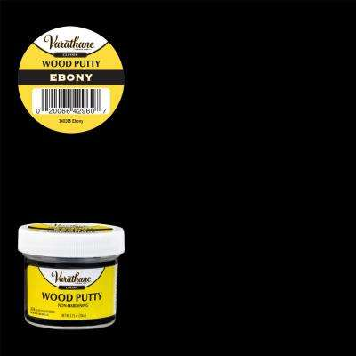 3.75 oz. Ebony Wood Putty
