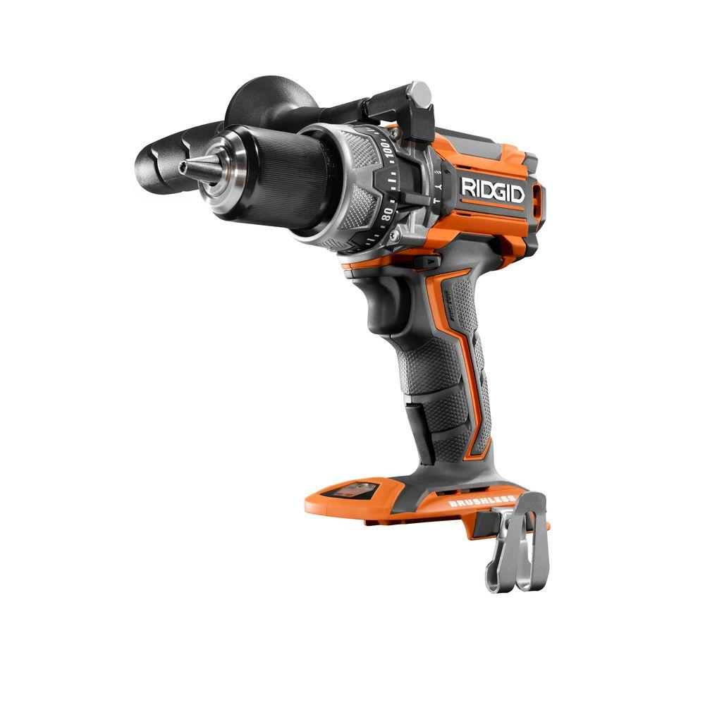 RIDGID 18-Volt GEN5X Cordless Lithium-Ion Brushless 1/2 in. Compact Hammer Drill/Driver (Tool Only)
