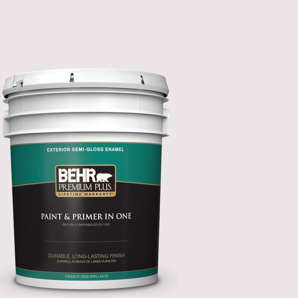 5-gal. #690E-1 Shell Brook Semi-Gloss Enamel Exterior Paint