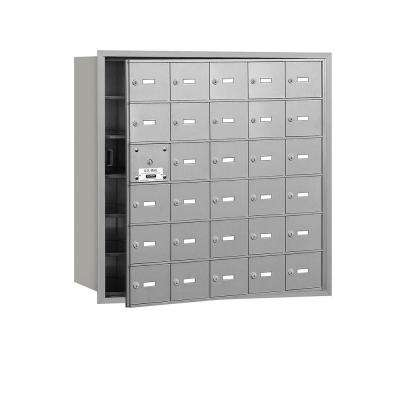 Aluminum USPS Access Front Loading 4B Plus Horizontal Mailbox with 30A Doors (29 Usable)