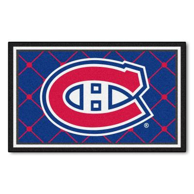 Montreal Canadians 4 ft. x 6 ft. Area Rug