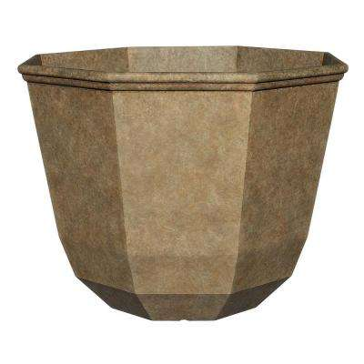 15 in. Earth Shaina Resin Planter