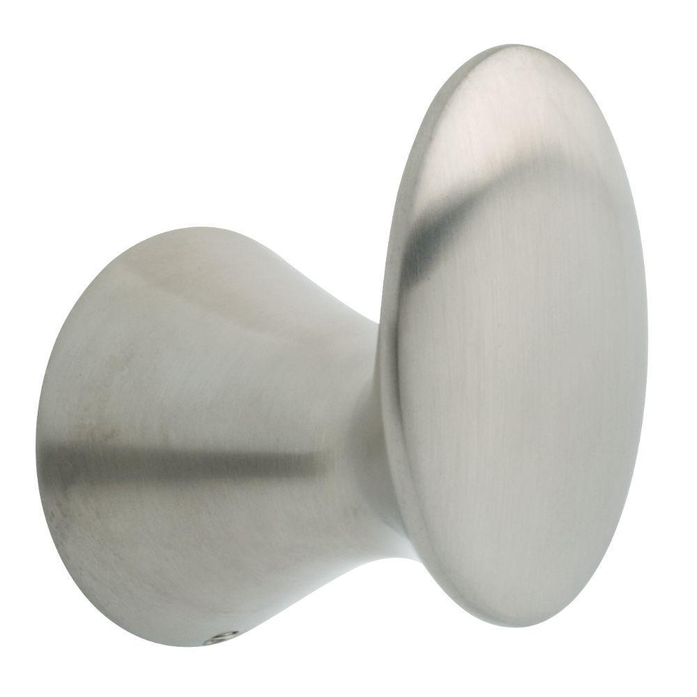 Somerset Single Towel Hook in Brushed Nickel