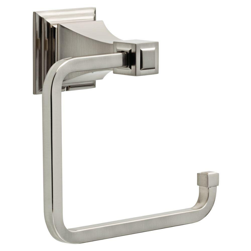 Lynwood Open Towel Ring in Brushed Nickel