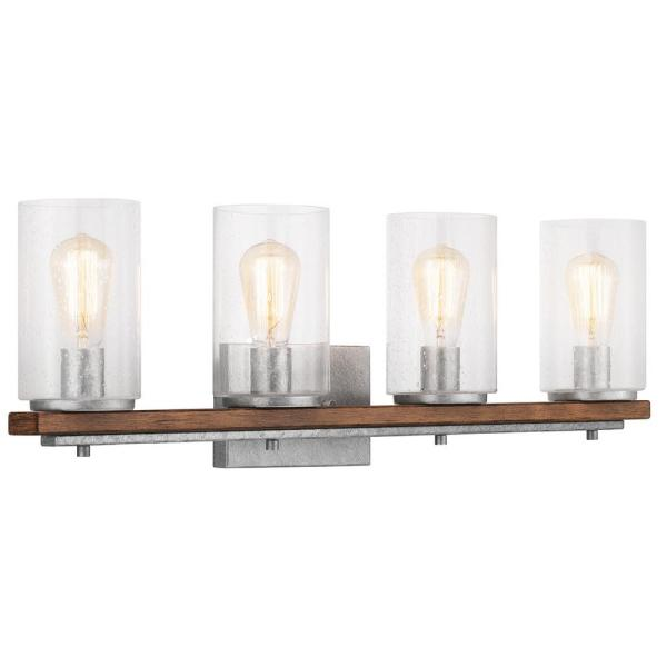 home decorators collection 4 light brushed nickel.htm home decorators collection boswell quarter 4 light galvanized  home decorators collection boswell