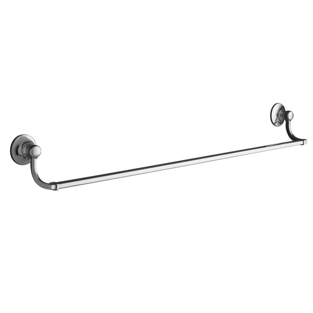 Bancroft 30 in. Towel Bar in Polished Chrome