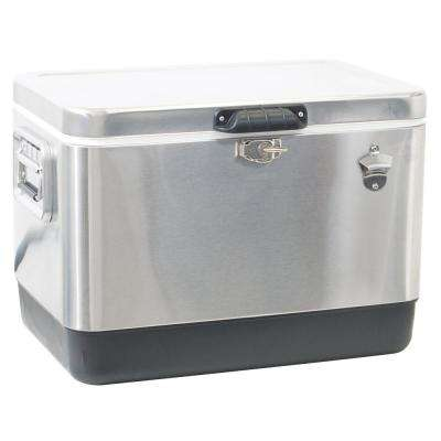 54 Qt. Stainless Steel Cooler