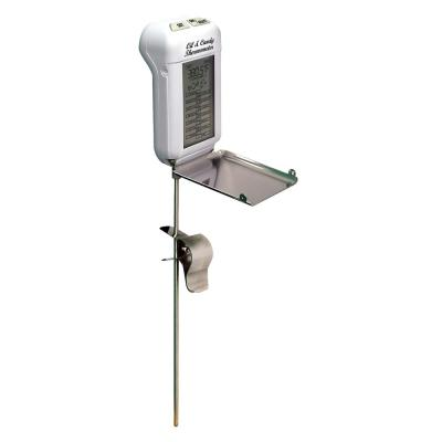 White LCD Food Thermometer