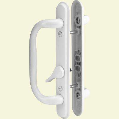Sliding Door Handle Set, White