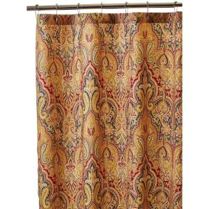 Home Decorators Collection Trophy Room 72 inch Shower Curtain in Fresco by Home Decorators Collection