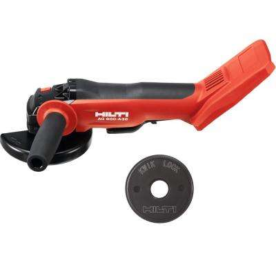 36-Volt Lithium-Ion Cordless Brushless 6 in. AG 600 Angle Grinder with Kwik Lock