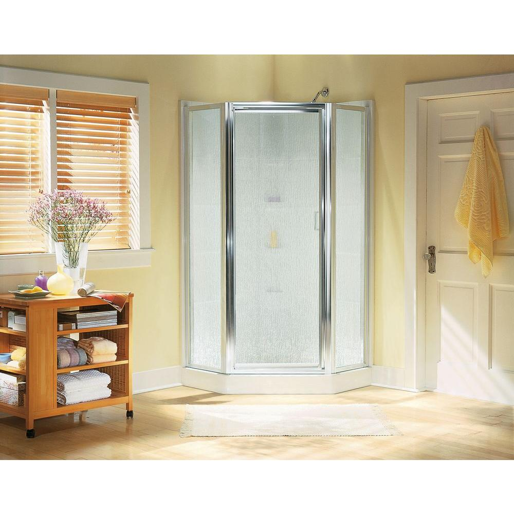 STERLING Intrigue 27-9/16 in. x 72 in. Neo-Angle Shower Door in ...