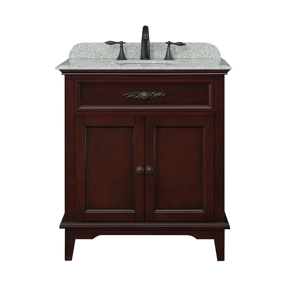 Ove Decors Doncaster 30 In W Bath Vanity In Tobacco With