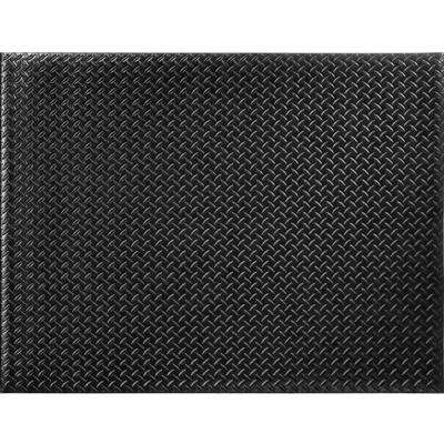 Black 36 in. x 48 in. Foam Commercial Door Mat