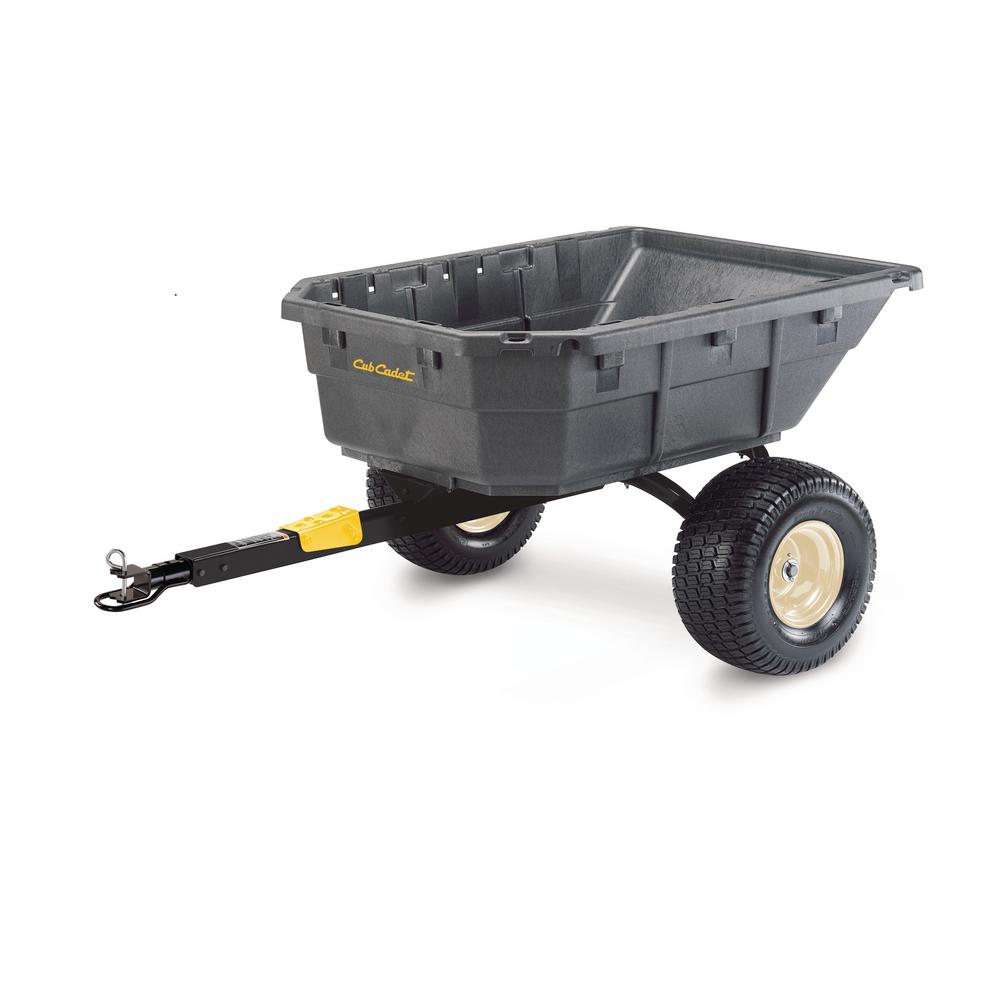 Molded Poly Uility Vehicle and Riding Mower Dump Cart