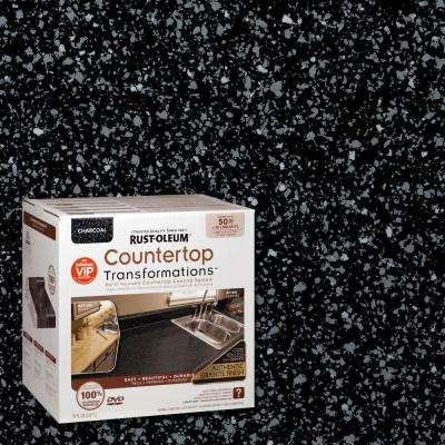 70 oz. Charcoal Large Countertop Kit