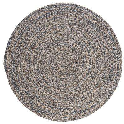 Cicero Denim 10 ft. x 10 ft. Round Area Rug