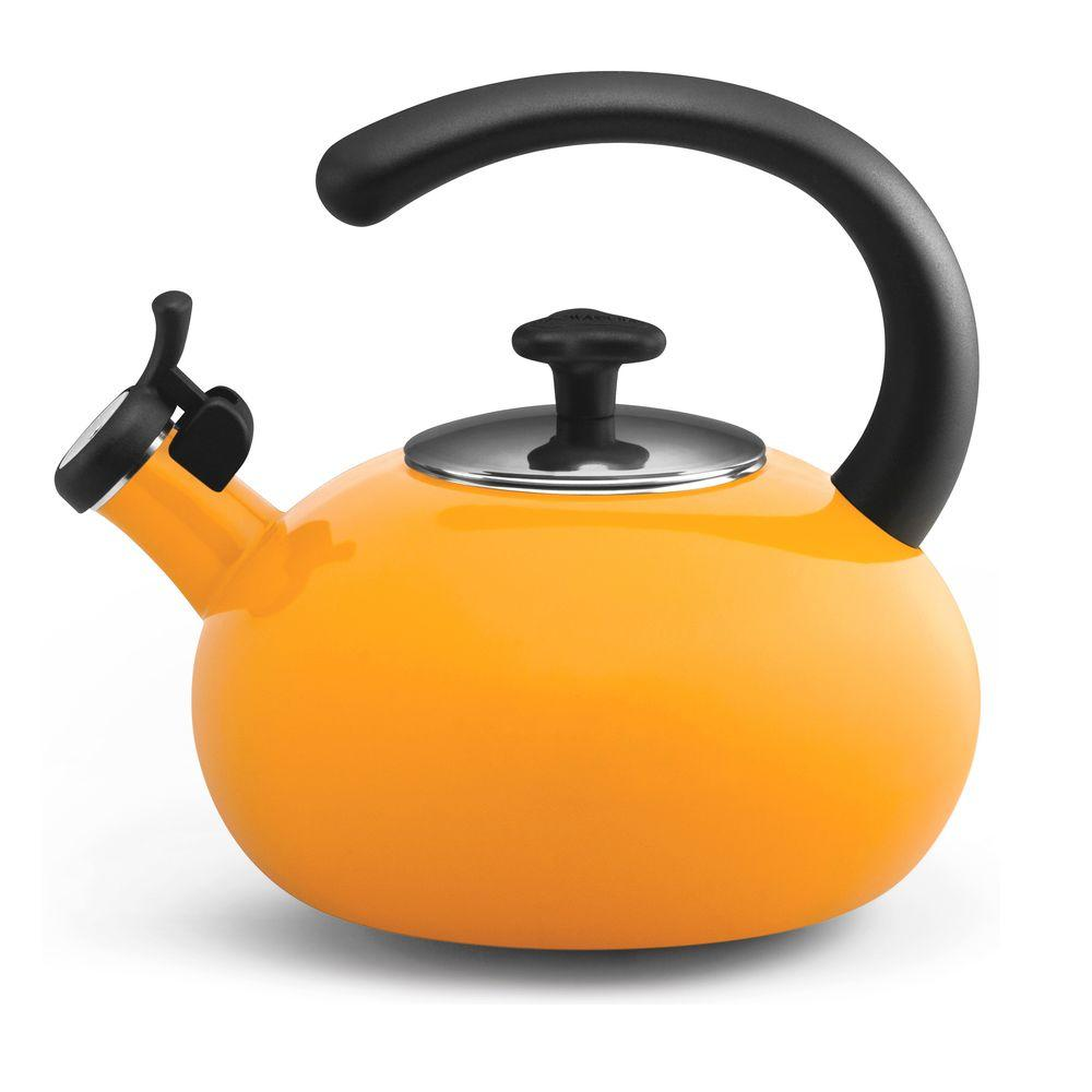 Rachael Ray 8-Cup Curve Teakettle in Yellow-DISCONTINUED