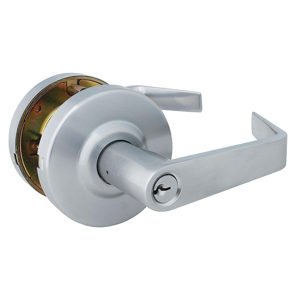 Eiffel Style Commercial Keyed Entry Door Lever