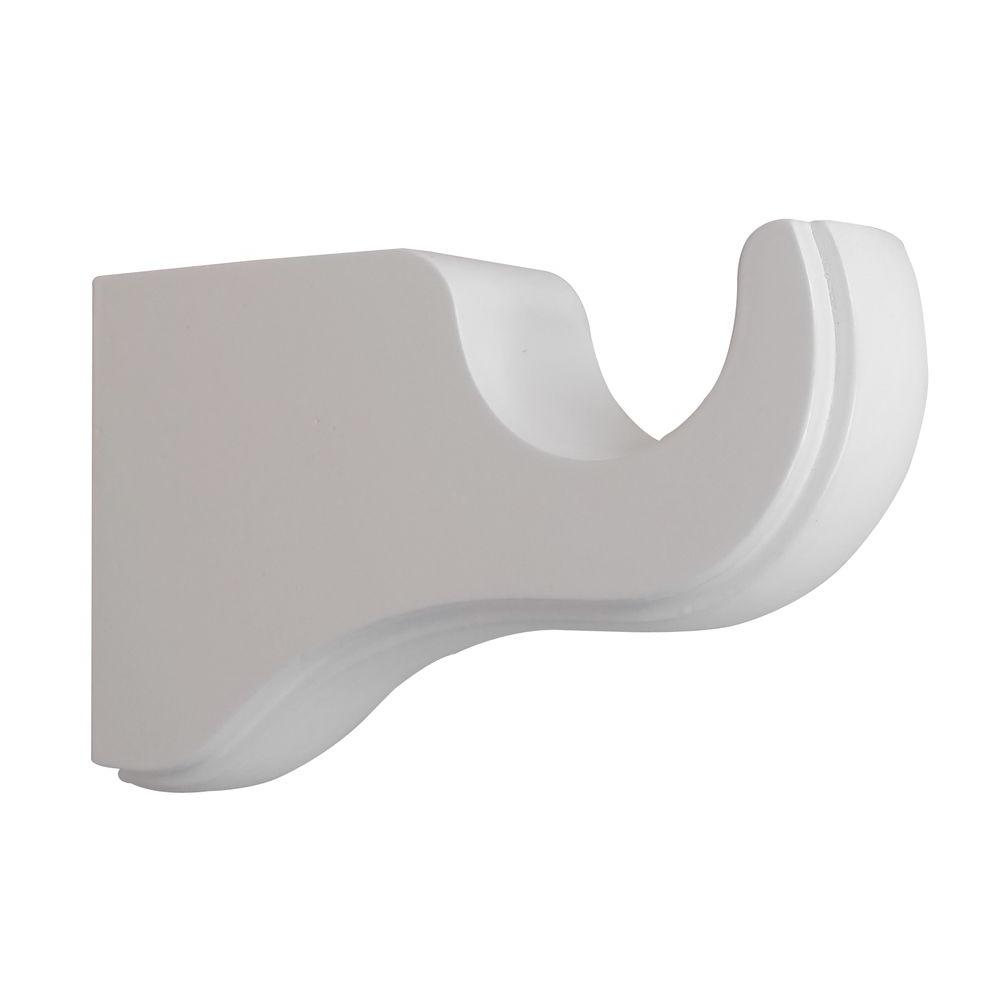 Wood Single Bracket In White