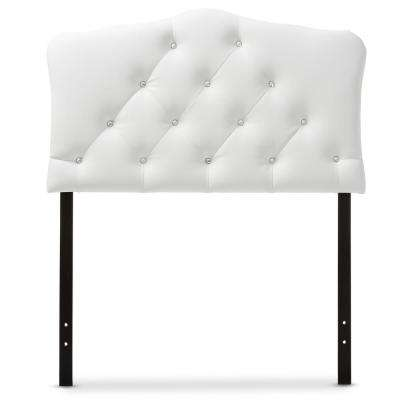 Rita White Queen Headboard