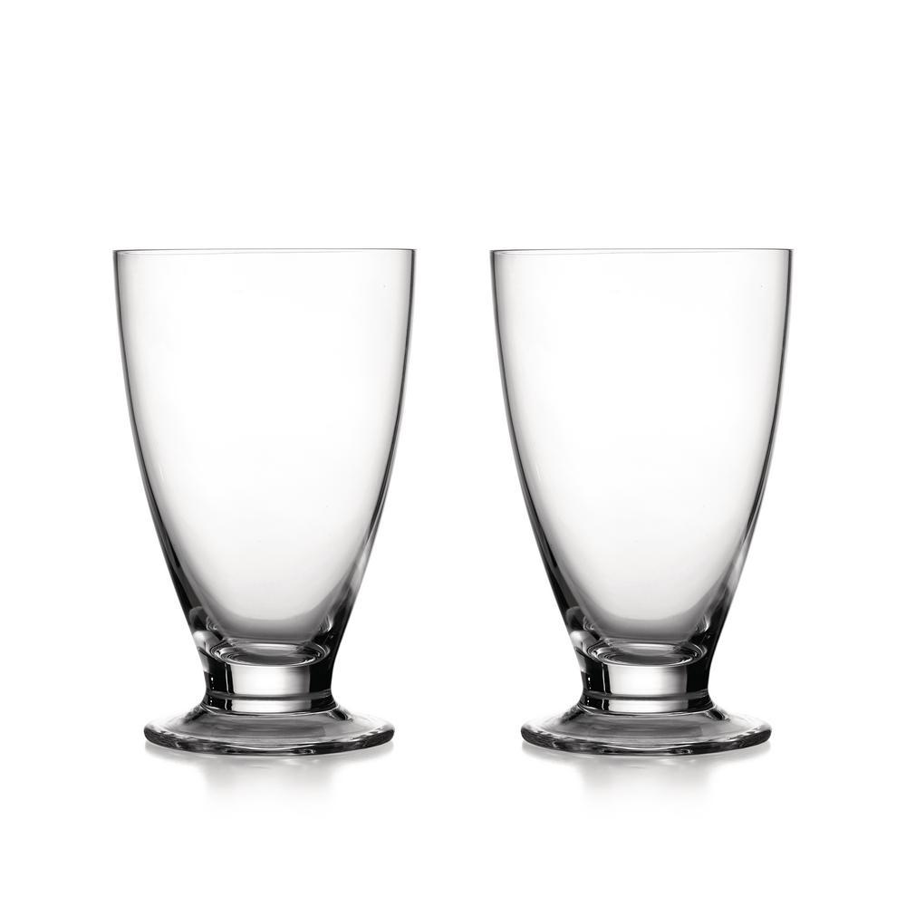 Skye 14 oz. Glass Highball Tumblers (2-Pack)