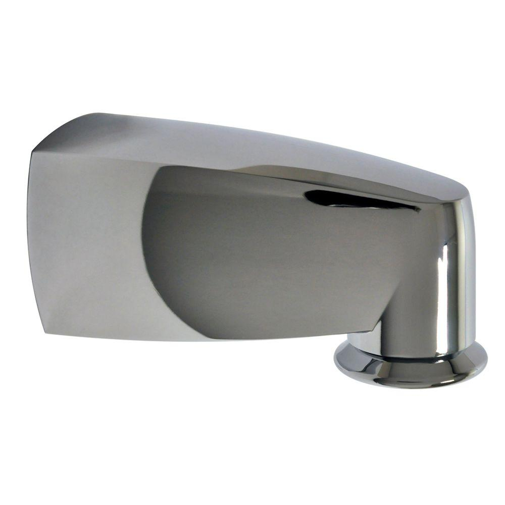 Pull Down Tub Spout In Chrome
