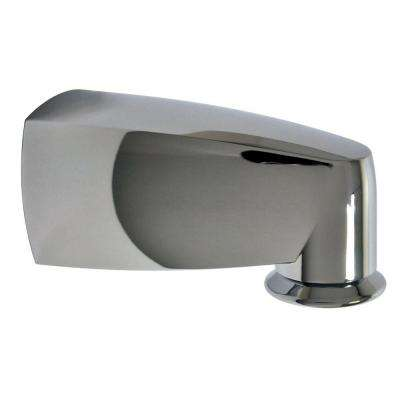 6 in. Pull-Down Tub Spout in Chrome