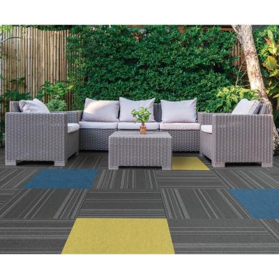Peel and Stick Color Accents Matisse 24 in. x 24 in. Residential Carpet Tile (8-tile / case)