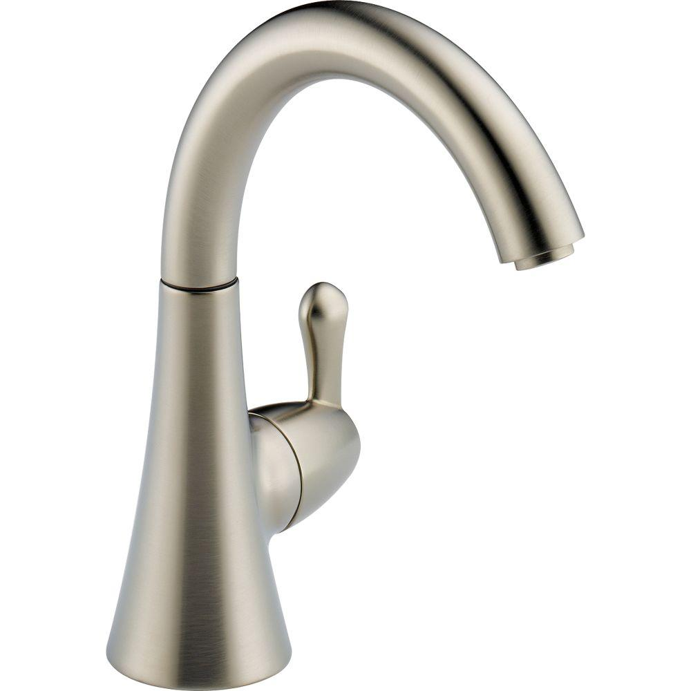 Delta Transitional Single-Handle Water Dispenser Faucet in Stainless ...