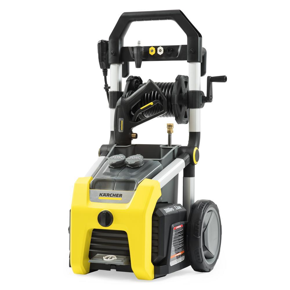 K2010 2000 PSI 1.3 GPM Electric Pressure Washer